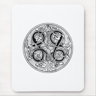Celtic knotwork on any color mouse pad