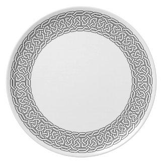 Celtic Knotwork Plate