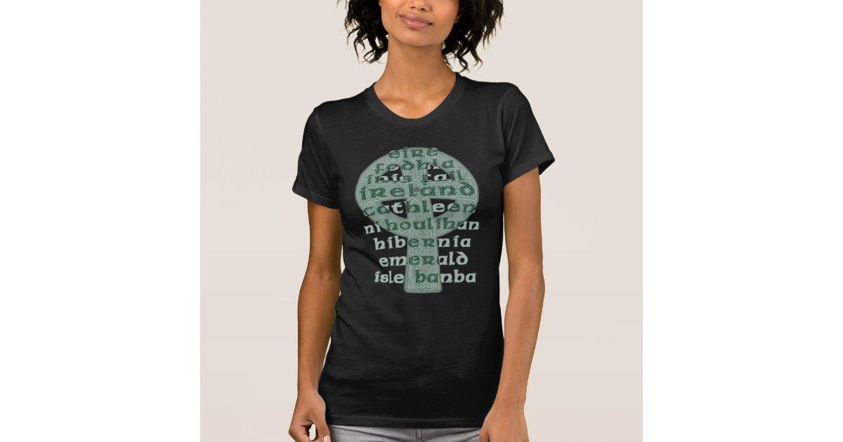 Celtic Ladies T Shirts Hoodies Names Of Ireland Zazzle