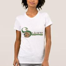 Celtic LadiesT-Shirts & Hoodies, Slainte Design T-Shirt