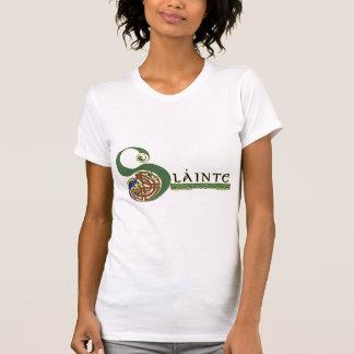 Celtic LadiesT-Shirts & Hoodies, Slainte Design Tee Shirt