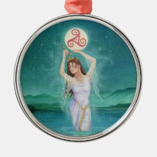 """Celtic Lady of the Lake"" Goddess Pendant Ornament"