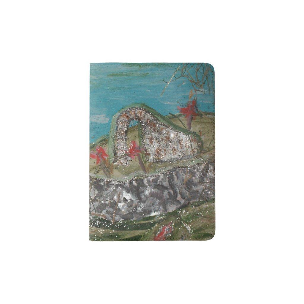 Celtic Landscape Passport Holder