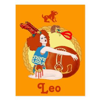 Celtic Leo Postcard