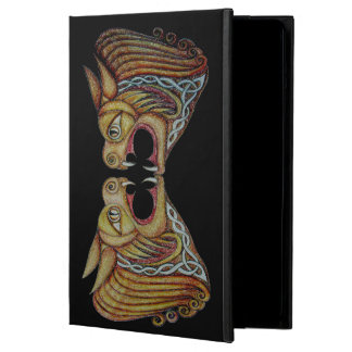 Celtic Leonine Beasts 2 Hard ipad Case