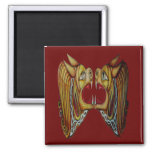 Celtic Leonine Beasts Magnet