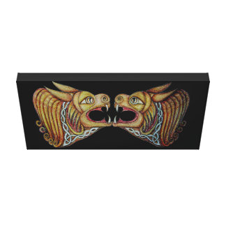 Celtic Leonine Beats 2 Wrapped Canvas
