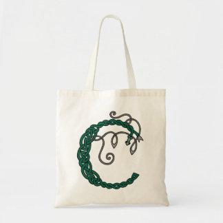 Celtic Letter C bag