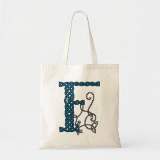 Celtic Letter F bag