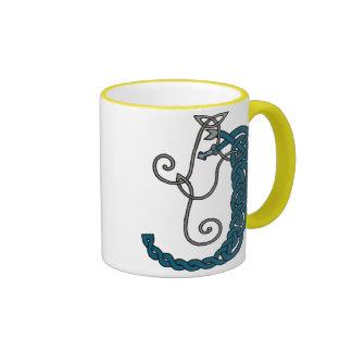 Celtic Letter J mug (right)