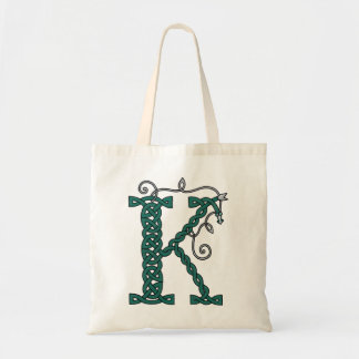 Celtic Letter K bag