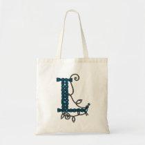 Celtic Letter L bag