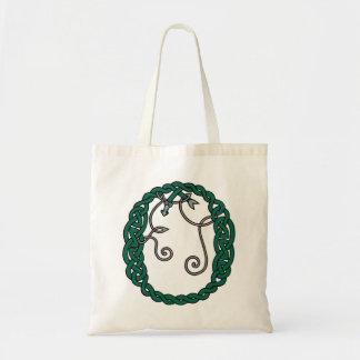 Celtic Letter O bag