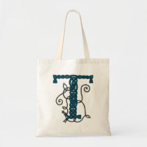 Celtic Letter T bag