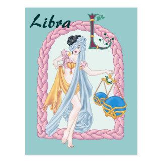 Celtic Libra Postcard