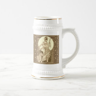 Celtic Lioness Beer Stein
