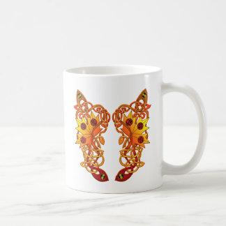 Celtic Loose Leaves Coffee Mugs