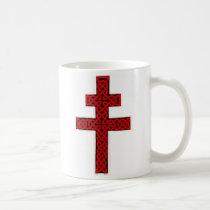 Celtic Lorraine Cross mug