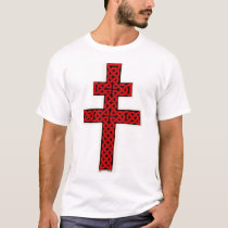 Celtic Lorraine Cross shirt