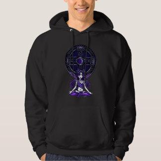 Celtic Lotus Black Hoodie