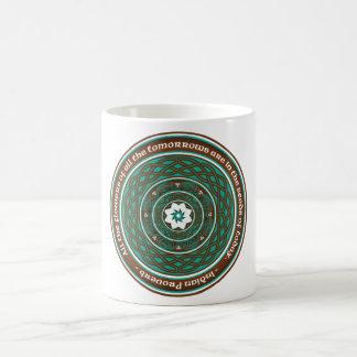 Celtic Lotus Mandala Coffee Mug