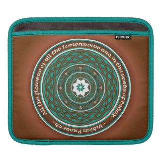 Celtic Lotus Mandala Sleeves For iPads