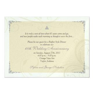 Celtic Love Knot Diamond Wedding Anniversary Card