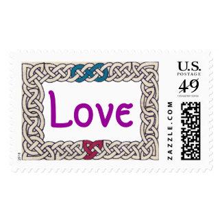 Celtic Love stamp 1