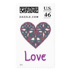 Celtic Love stamp 2