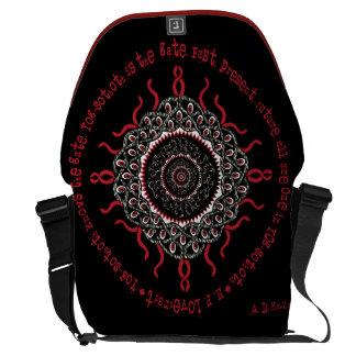 Celtic Lovecraftian Cosmic Monster Deity Messenger Bag
