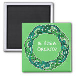 Celtic Lucid Dreaming Reality Check Magnet