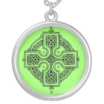 Celtic Luck Silver Plated Necklace