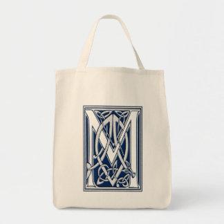 Celtic M Monogram Tote Bag
