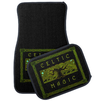 Celtic Magic Set of 4 Car Mats