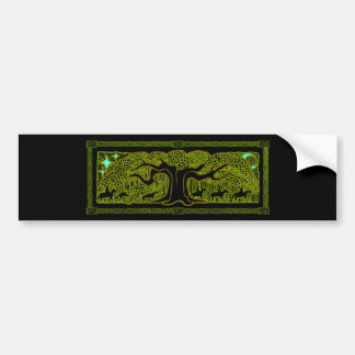 Celtic Magic - The Great Tree Bumper Sticker Car Bumper Sticker