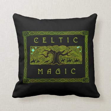 Celtic Magic - The Great Tree Pillow