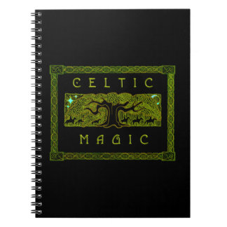 Celtic Magic - The Great Tree Spiral Notebook