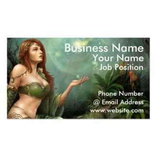 Celtic Maiden, Business Card