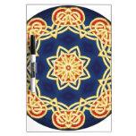 Celtic Mandala Dry Erase Board