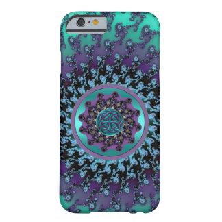 Celtic Mandala on Colorful Fractal iPhone 6 Case