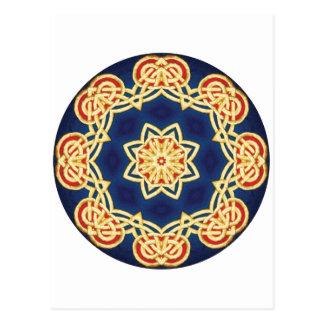 Celtic Mandala Postcard