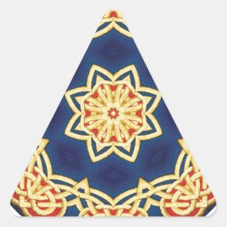 Celtic Mandala Triangle Sticker