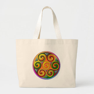 Celtic Markings Large Tote Bag