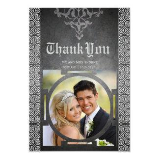 Celtic Medieval Wedding Thank You Card