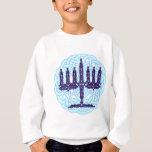 Celtic Menorah Kids' Sweatshirts