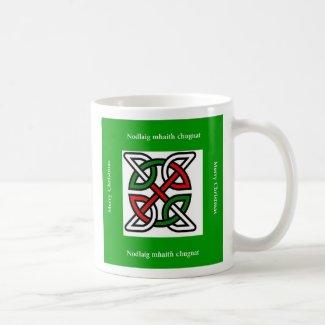 Celtic Merry Christmas Mug