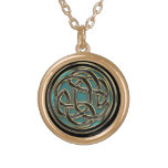 Celtic Metal Eternal Life Necklace