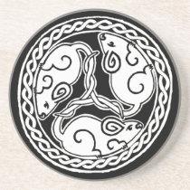 Celtic Mice coaster