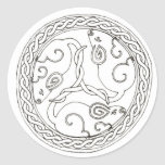 Celtic Mice (plain) stickers