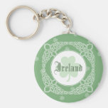 Celtic Mist Keychain - Green